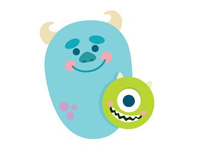Monsters 15 mike wazowski sulley disney pixar inc. monsters