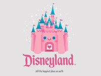 Kawaii Castle - Disneyland
