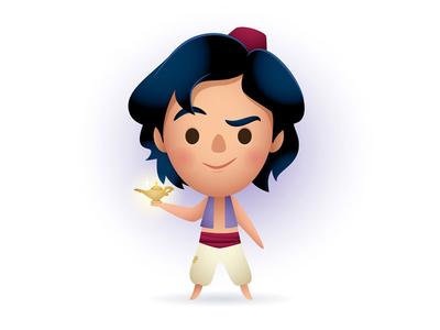 Aladdin glen keane cute kawaii jerrod maruyama jmaruyama aladdin disney