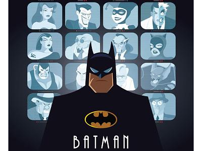 BTAS: Eyes On Gotham the joker warner bros. dc batman the animated series batman