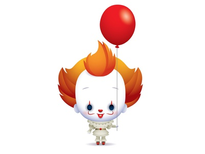 Pennywise jmaruyama stephen king clown pennywise it