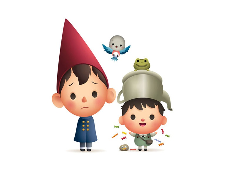 Over The Garden Wall By Jerrod Maruyama On Dribbble