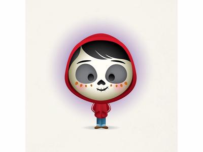 Skeleton Miguel jerrod maruyama cute kawaii jmaruyama miguel disney coco pixar