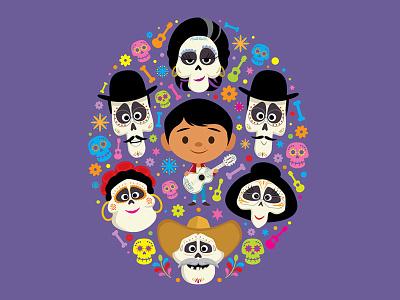 Coco Family miguel jmaruyama coco disney pixar toy story