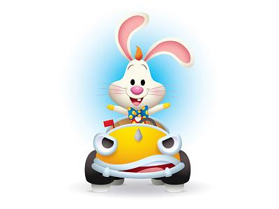 Roger and Benny toontown disney disneyland benny the cab roger rabbit