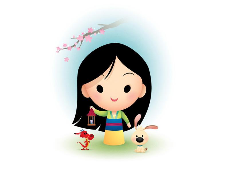 Happy New Year mushu little brother disney mulan chinese new year