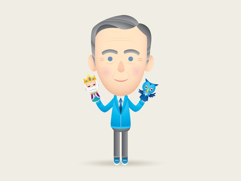 Mister Rogers character design jmaruyama mister rogers neighborhood pbs fred rogers mister rogers