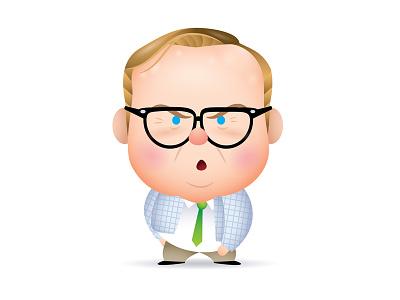 Matt Foley chris farley snl waynes world caricature character design illustration kawaii cute jmaruyama gallery 1988 sewcute