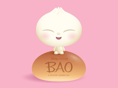 Bao illustration character design chibi kawaii cute jmaruyama pixar disney bao