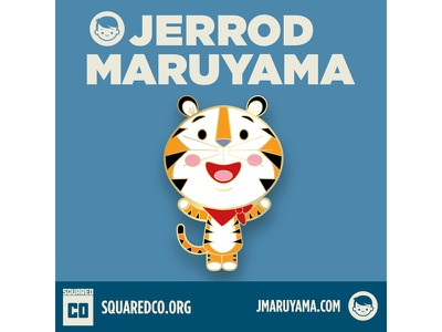 Sugar Frosted Cute collectibles pins kawaii cute squaredco jerrod maruyama jmaruyama