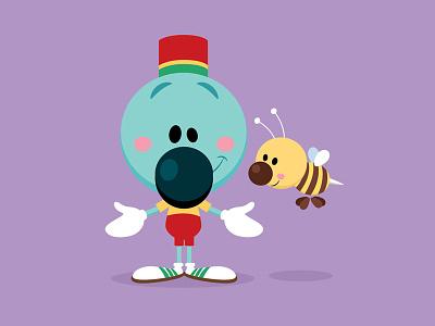 Andre and Wally B illustration character design chibi kawaii cute jmaruyama pixar disney wally b andre