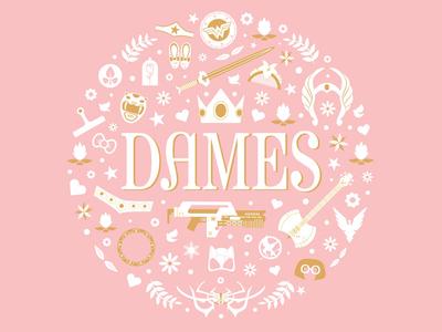 DAMES logo