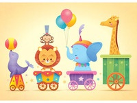 Kawaii Circus Parade