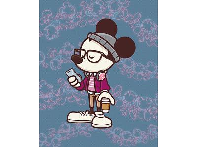 Hipster of Tomorrow disney world epcot mickey90 star trader tomorrowland disneyland jmaruyama hipster mickey mickey mouse disney