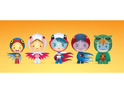 Cute Force cutesy gallery 1988 kawaii cute character design