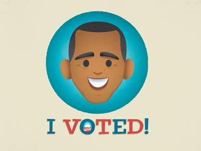 Vote! vote 2012 obama election