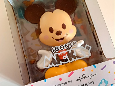 Iconic Mickey Vinyl wonderground gallery maruyama vinyl toy cute characterdesign mickey mouse