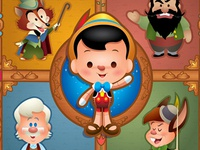 Pinocchio - WonderGround Gallery