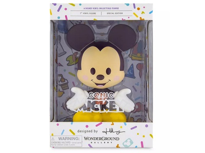 Iconic Mickey vinyl toy illustrations character design mickeymouse