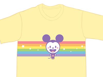 Rainbowmickey dribble