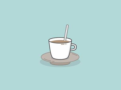 Coffee café coffee drink clean illustration sketch vector
