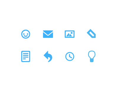 Arbeixi Icons sketch illustration vector blue icon set icons icon