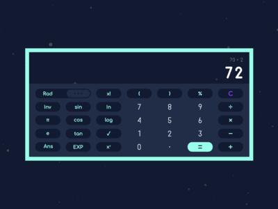 Landscape Mode Calculator