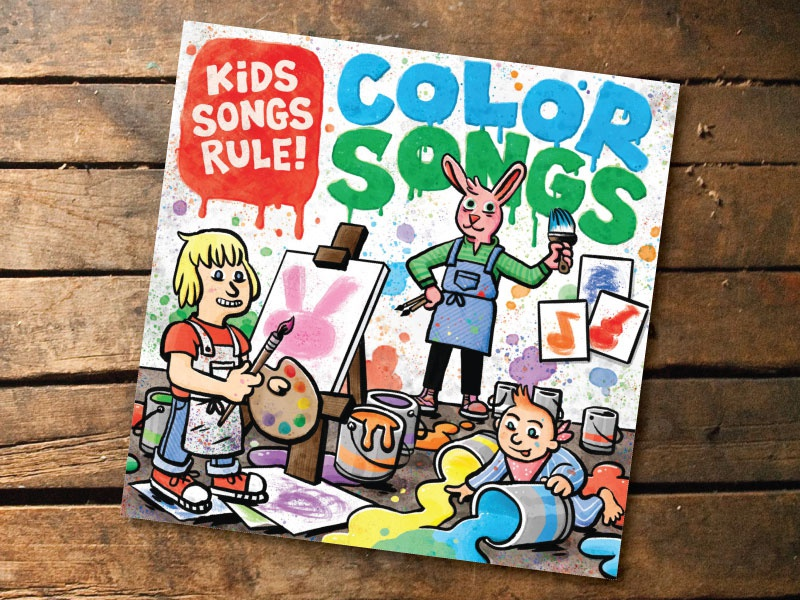 Kids songs rule color songs