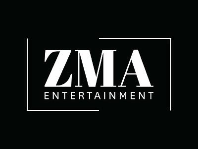 ZMA branding typography design