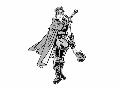Palace of Memories — Ilyana sci fi fantasy character design comics illustration
