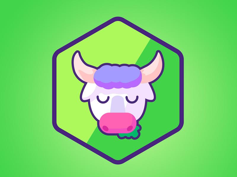 cow site illustration branding webstoryboy