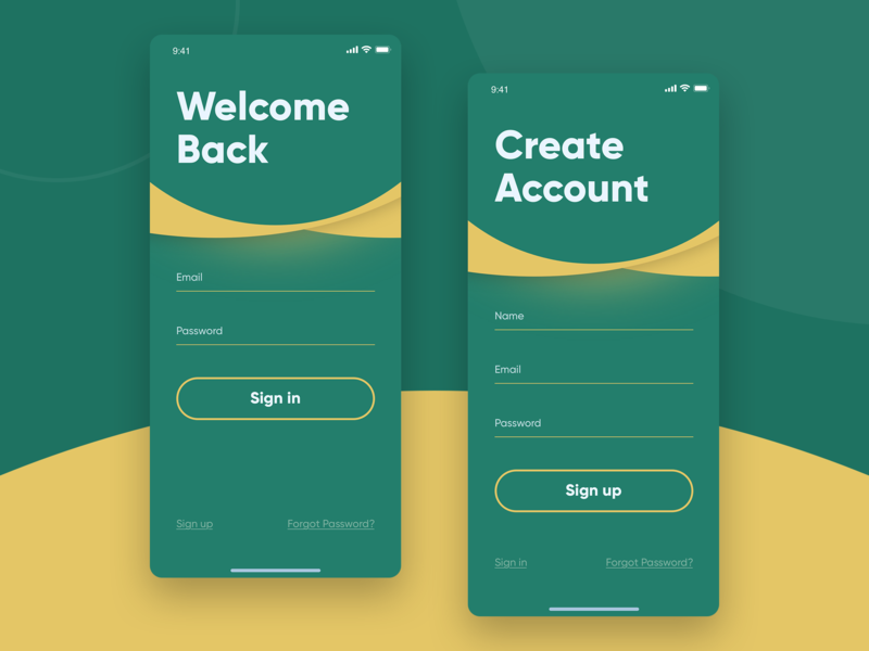 Daily UI #001 Sign up screen uiuxdesign challenges signup app ui ui uiux daily 100 challenge daily ui dailyui