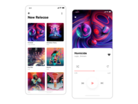 Daily UI #009 Music App