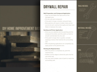 Home Improvement Basics e-Book ebook home improvement icon design design hipster urban construction graphic design