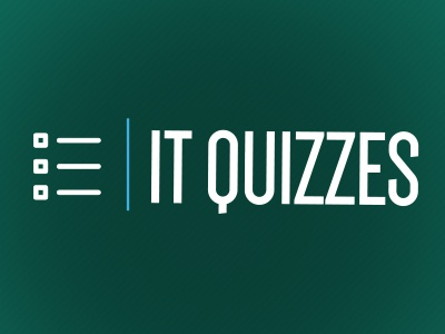 IT Quizzes logo logo design quiz brand branding