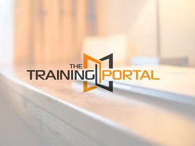 The Training Portal branding logo portal training online training graphic design design brand