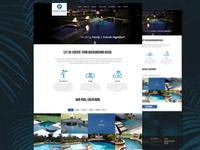 Pearland Pools Website