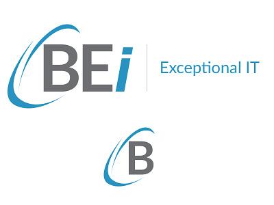 BEi Logo Design favicon avatar icon tagline branding design logo