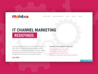 Marketopia Agency Redesign