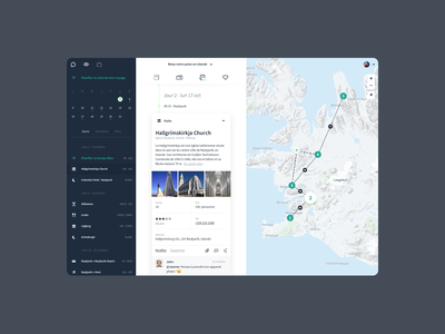 Epikeo - Travel Planner trip map product design traveling travel app artificial intelligence ai ux responsive web design brand experience