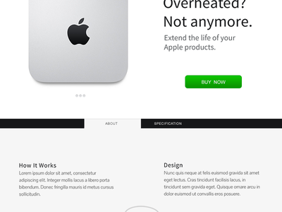 Landing page simplicity apple whitespace landing page landing home page