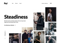 Clothing Website Layout Experiment for Practice