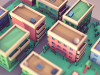 Low Poly Apartments