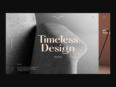 Limeline Cape Town - Desktop sofa chair shop store furniture grid minimal ecommerce website page web landing design ux ui