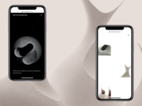 Mitch Pilkington whitespace ceramics mobile grid shop ecommerce website minimal page landing ux ui web design branding