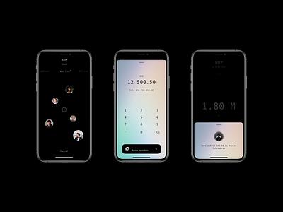 XRP Wallet App send pay payment ux ui ripple money mobile minimal ios fintech finance design crypto blockchain bitcoin banking apple app 14