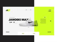 Nike SB 15 Years Case Study website app sneakers ux ui web skateboarding history shoe shoes nike sb nike