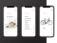 Minimal Bike Rental App