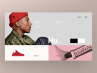 Adidas Originals Collaborations Website - Pharrell