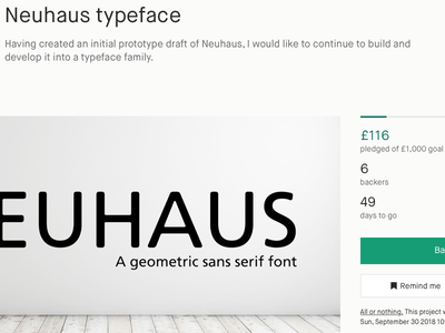 Screen Shot 2018 08 12 At 22.00.02 sans serif kickstarter typeface font neuhaus